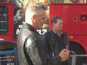 Morrissey: Were We Stalking Him on His Birthday?